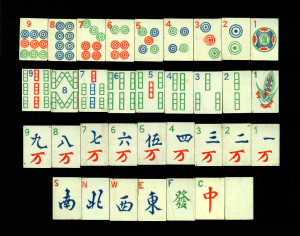 mahjong tiles, etsy