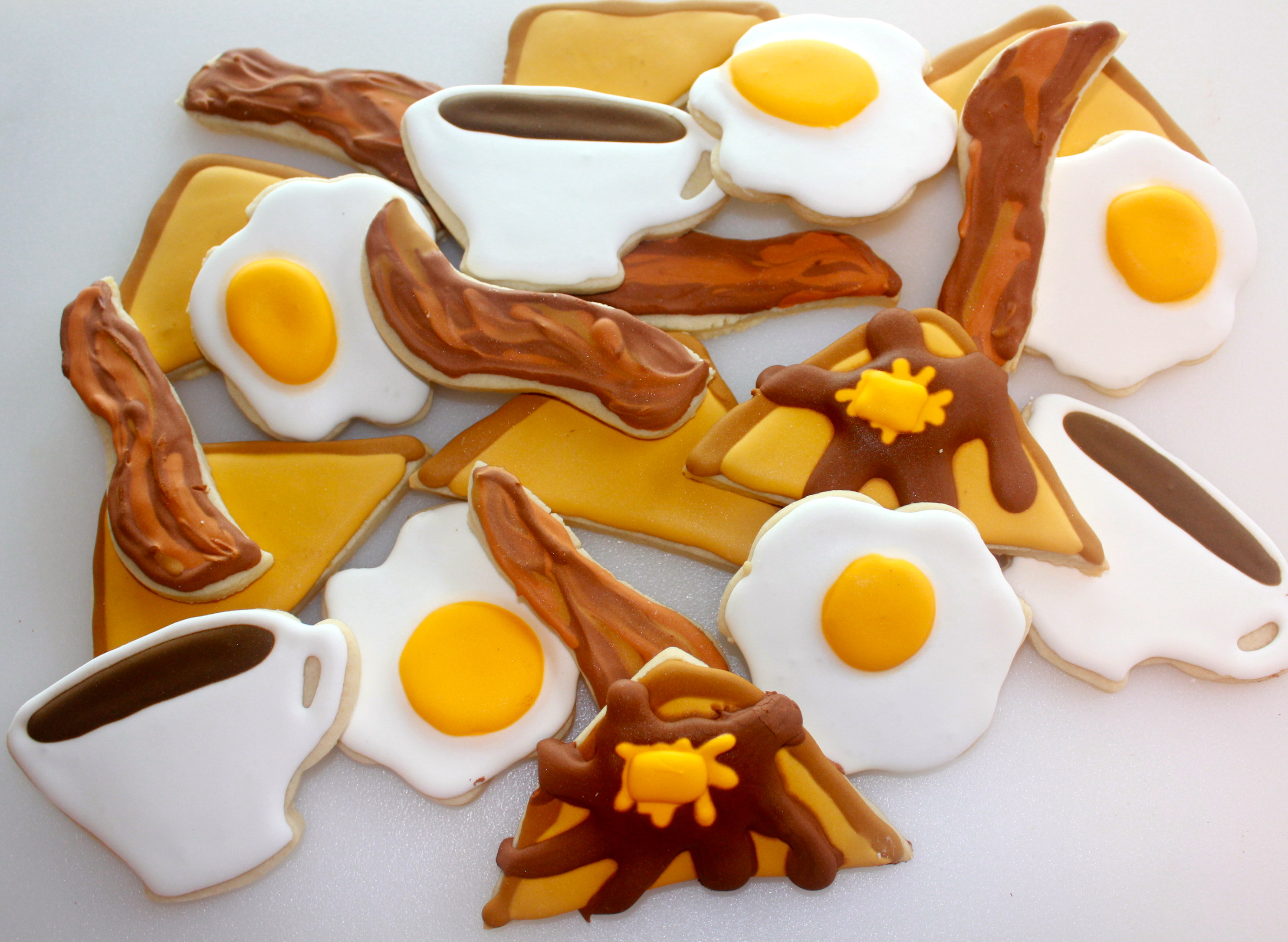 Breakfast Sugar Cookies  | SugaredandIced.com