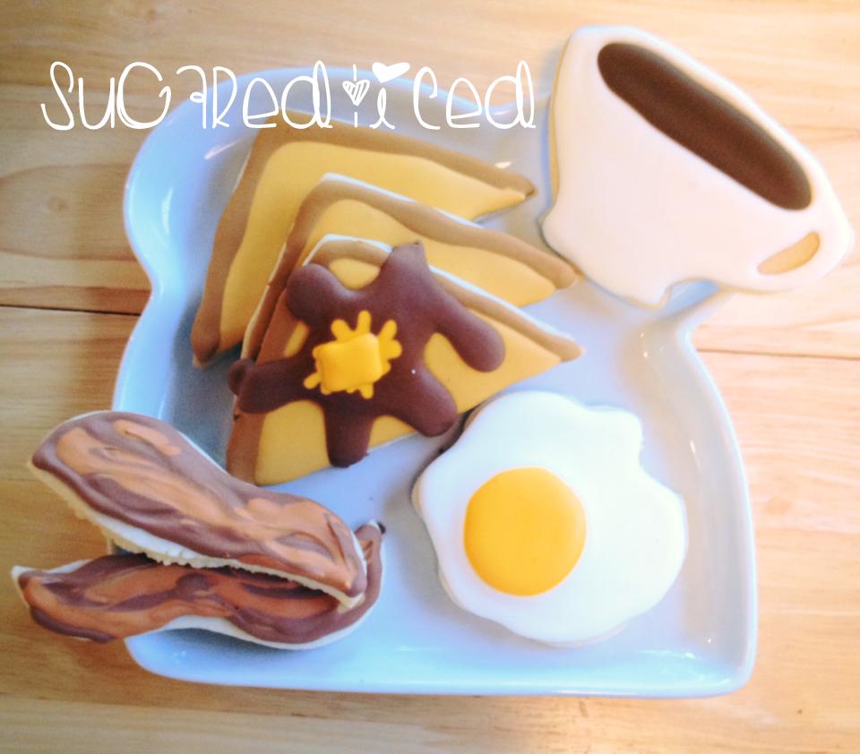 breakfast sugar cookies |sugaredandiced.com