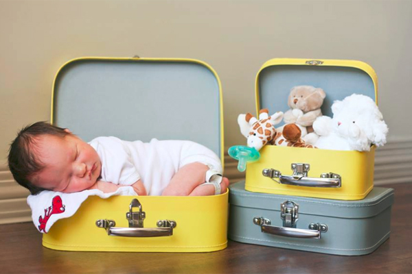 Adorable Baby via Robbie an Allan Cronrod