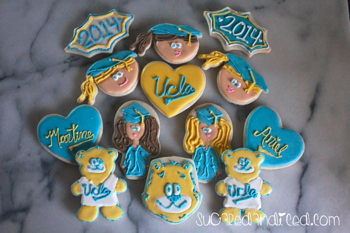 I Love L.A. – UCLA Graduation Cookies