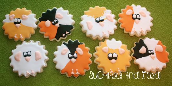 Guinea Pig Sugar Cookies |SugaredandIced.com