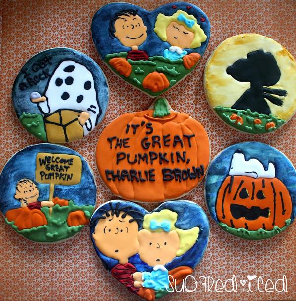 Great Pumpkin Sugar Cookies  | SugaredandIced.com