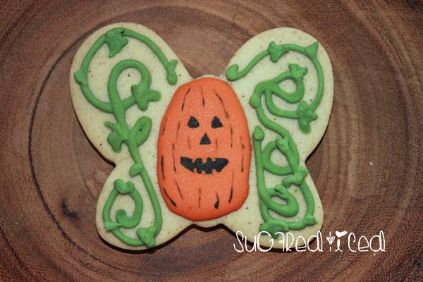pumpkin-butterfly-cookie