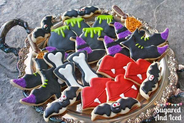 Happy Halloween Eve! Halloween Cookies