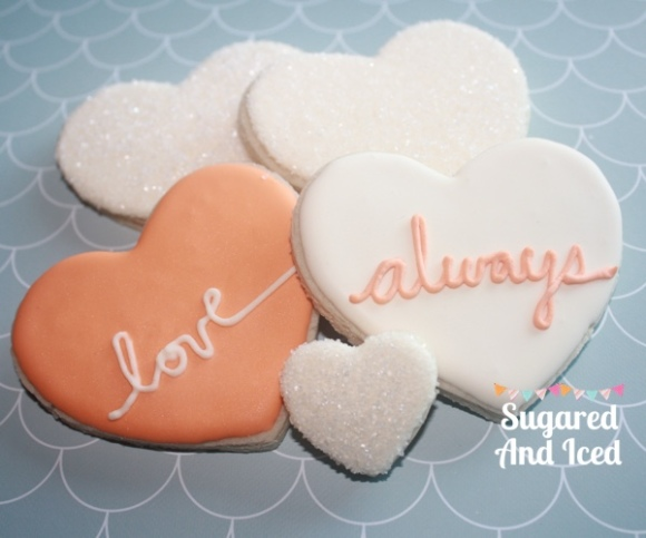 Heart Sugar Cookies