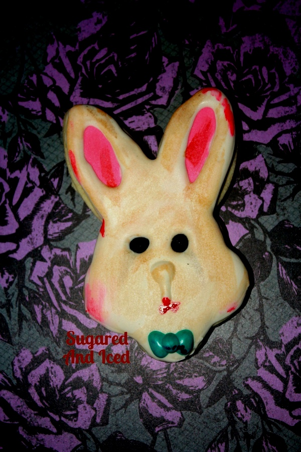 Alice in Wonderland Horror Cookies | SugaredAndIced.com