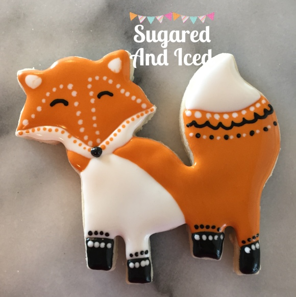 Fox Sugar Cookie