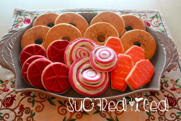 Bagels Sugar Cookies