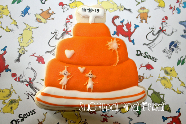 Seuss cake | SugaredAndIced.com