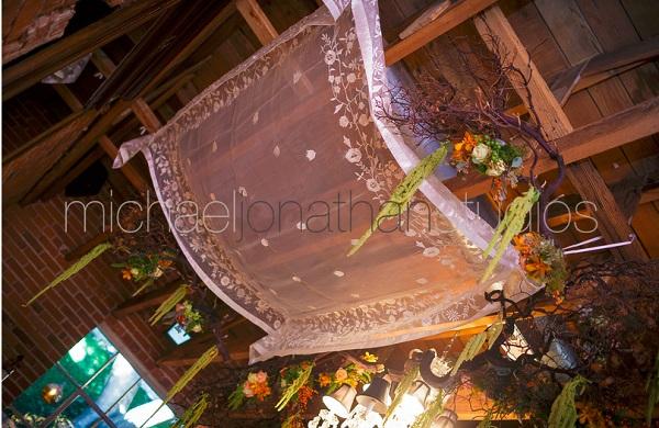 Carondelet House Wedding Chuppah | SugaredAndIced.com