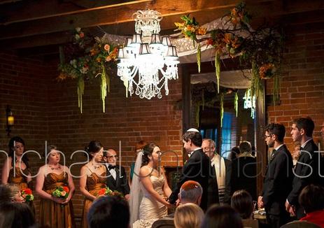 Carondelet House Wedding Ceremony| SugaredAndIced.com