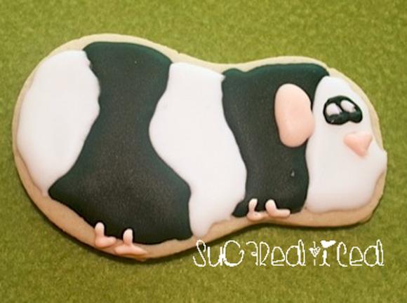 Guinea Pig Sugar Cookie