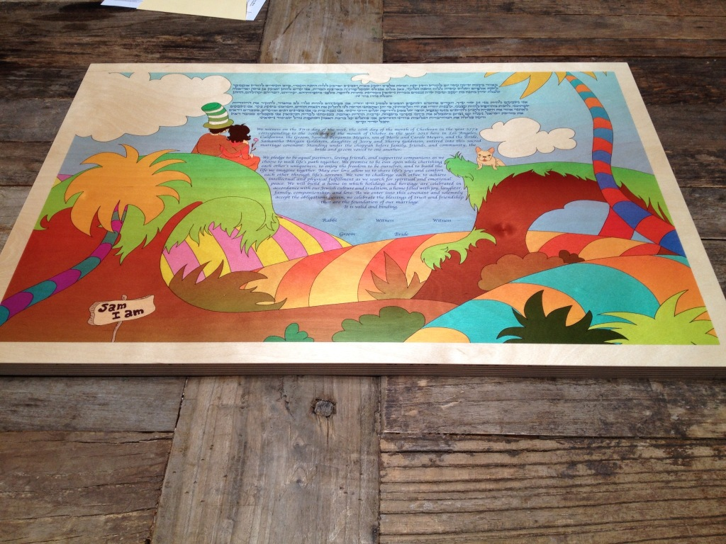 Seuss Ketubah | SugaredAndIced.com