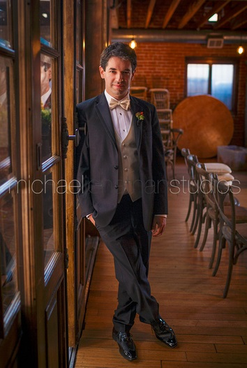 Carondelet House Wedding Groom| SugaredAndIced.com