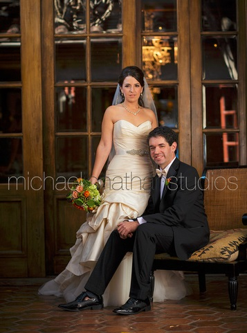 Carondelet House Wedding Photos | SugaredAndIced.com