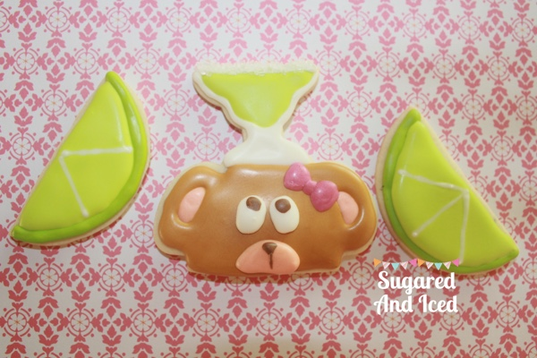 Happy Friday! Margarita Bear Cookies