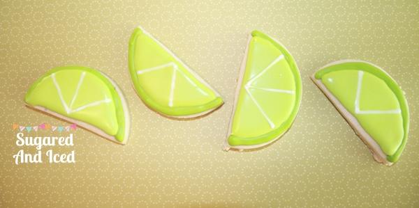 Margarita lime sugar cookies | SugaredAndIced.com