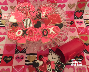 Valentines Cake Pops | Sugared and Iced