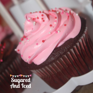 Valentines Cupcake | Sugared and Iced