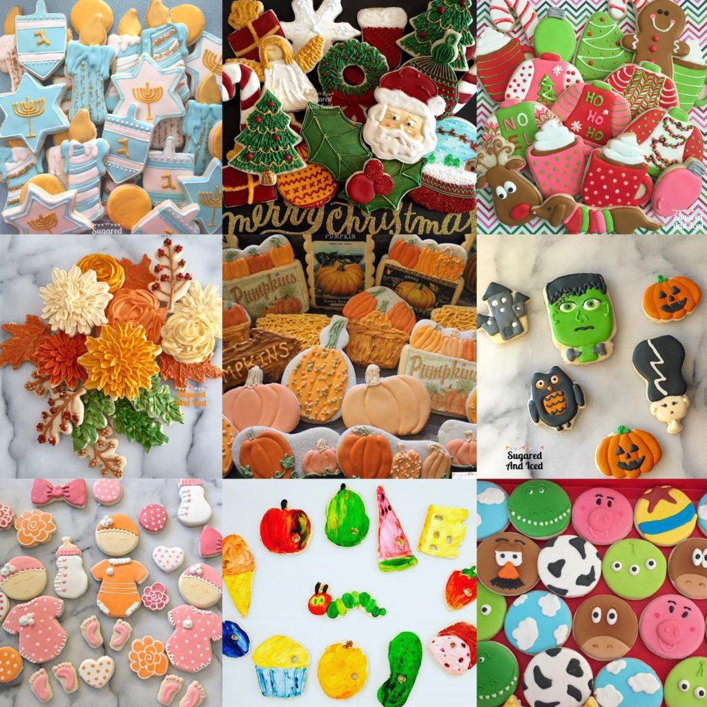 Sugar cookies | SugaredAndIced.com