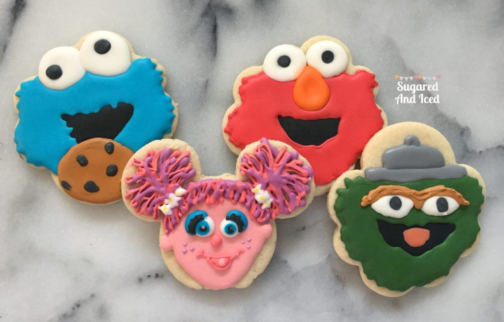 Sesame Street Cookie Friend   SugaredAndIced.com