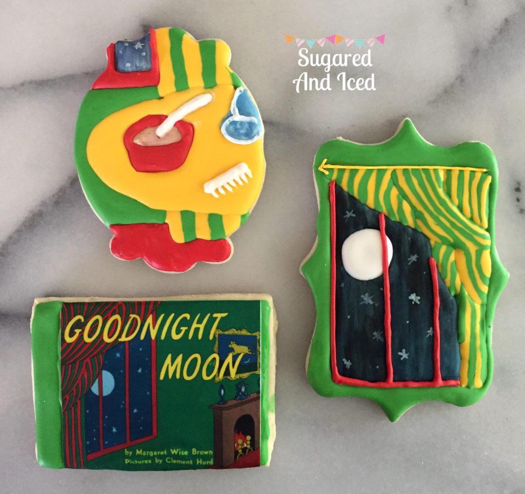 Goodnight Moon Cookies | SugaredAndIced.com