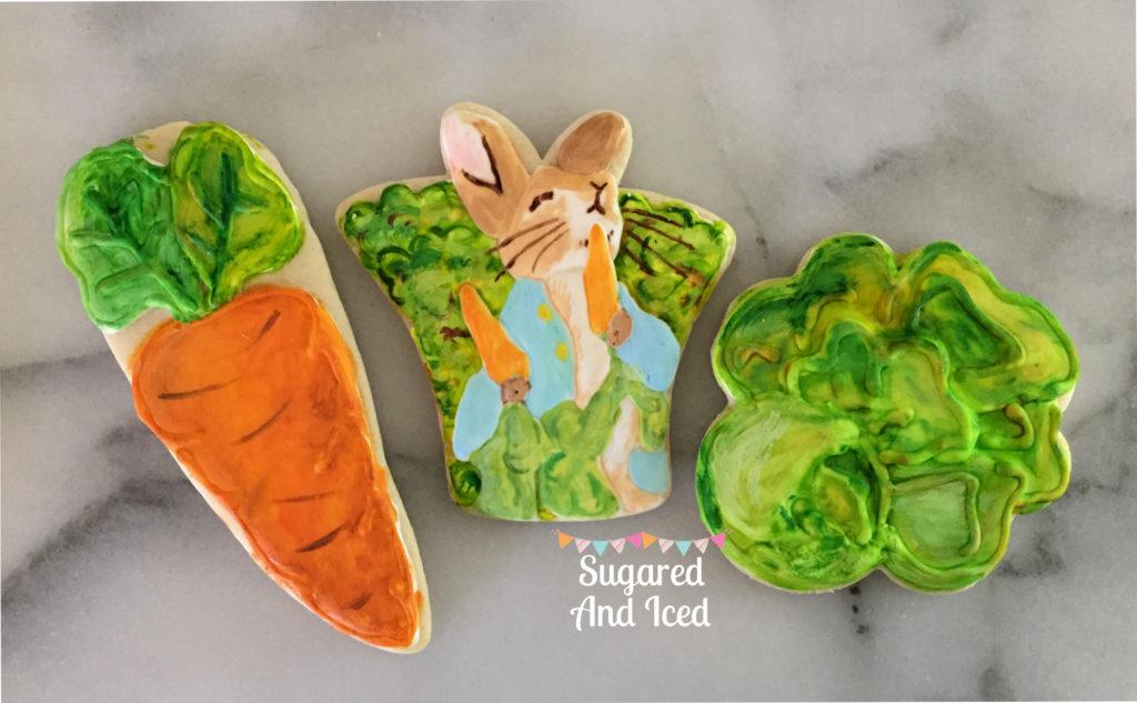 Peter Rabbit Cookies | SugaredAndIced.com
