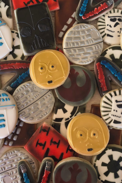 Star Wars Cookies – The Last Jedi!