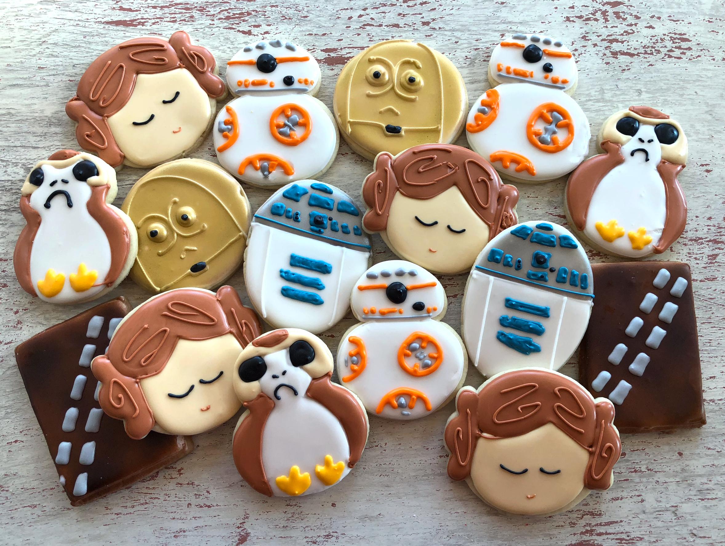 Star Wars Cookies The Last Jedi