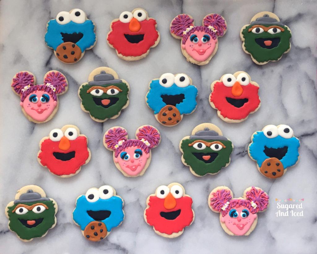 Sesame Street Elmo Cookie Monster Abby Cadabby Oscar The